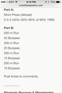 Burpees and running-- my two LEAST favorite things ever. In this world.